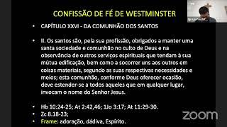 EBD - 21/02/2021 - Comunhão dos Santos/CFW
