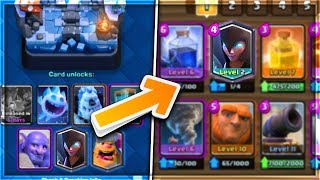 1 CARD FROM EACH ARENA! | Arena 1-8 DECK CHALLENGE in Clash Royale!!