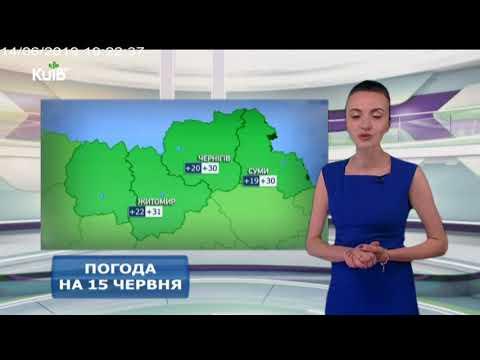 Телеканал Київ: Погода на 15.06.19