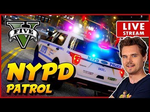 GTA 5 LSPDFR NYPD PATROL New York City Police | GTA 5 LSPDFR Realistic Police Mod