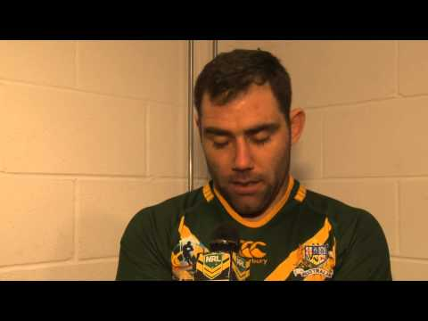 Cam Smith Post match after Australia's 34-2 win over Fiji