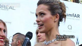Kirsten Dunst, Kylie Minogue, Petra Nemcova at amfAR Gala with Hofit Golan | Cannes 2012 | FashionTV