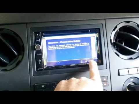 Jensen VX7020 In-Dash DVD/NAV/BLUETOOTH Installed In 2012 Ford F250