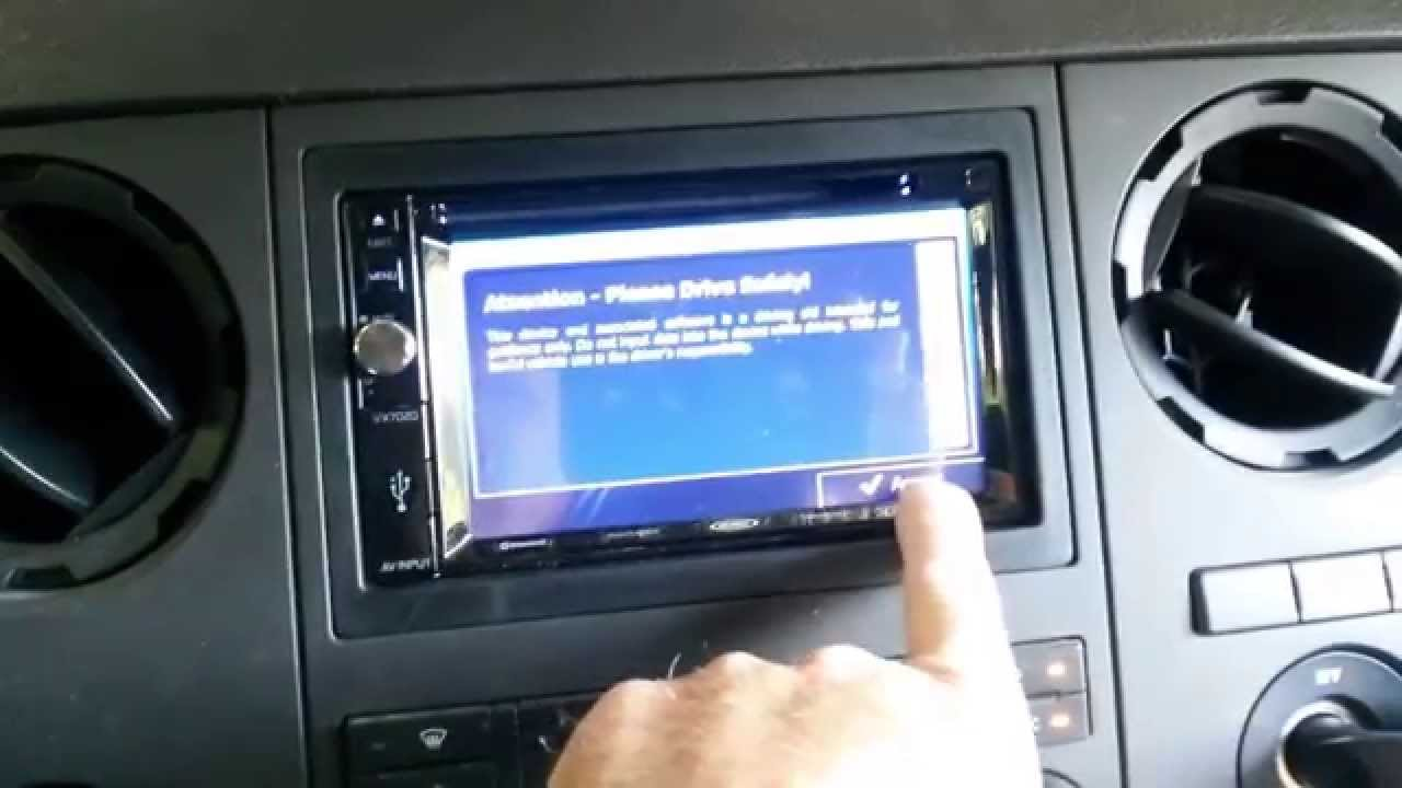 Jensen Vx7020 In Dash Dvd Nav Bluetooth Installed In 2012