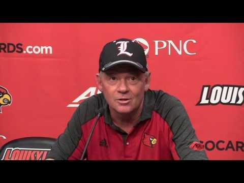 Bobby Petrino Florida State Post-Game 9-17-2016