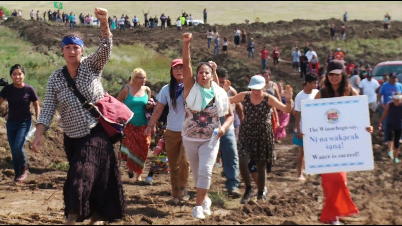 Full Exclusive Report Dakota Access Pipeline Co Attacks