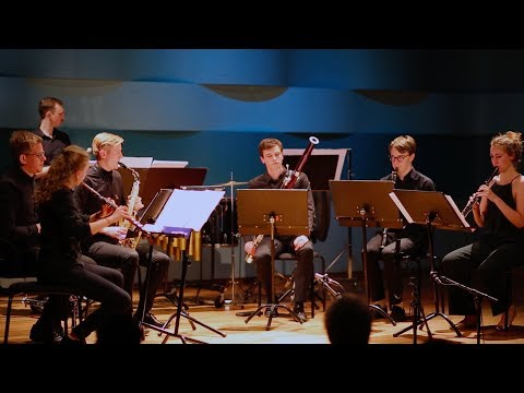LIVE - from SUITE for Soprano and Alto Recorder, Wind Quintet & Percussion by Ingvar Karkoff