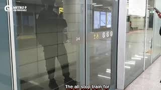 수도권 전철 9호선 개화행 국회의사당역 진입