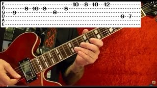 Guitar Lesson - CCR - Fortunate Son - With Printable Tabs