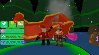 Roblox [🌲CHRISTMAS!🌟] Bubble Gum Simulator - Christmas Event! - New Update!