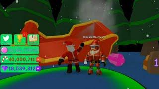 Roblox [🌲CHRISTMAS!🌟] Bubble Gum Simulator - Événement de Noel! - Nouvelle mise à jour!