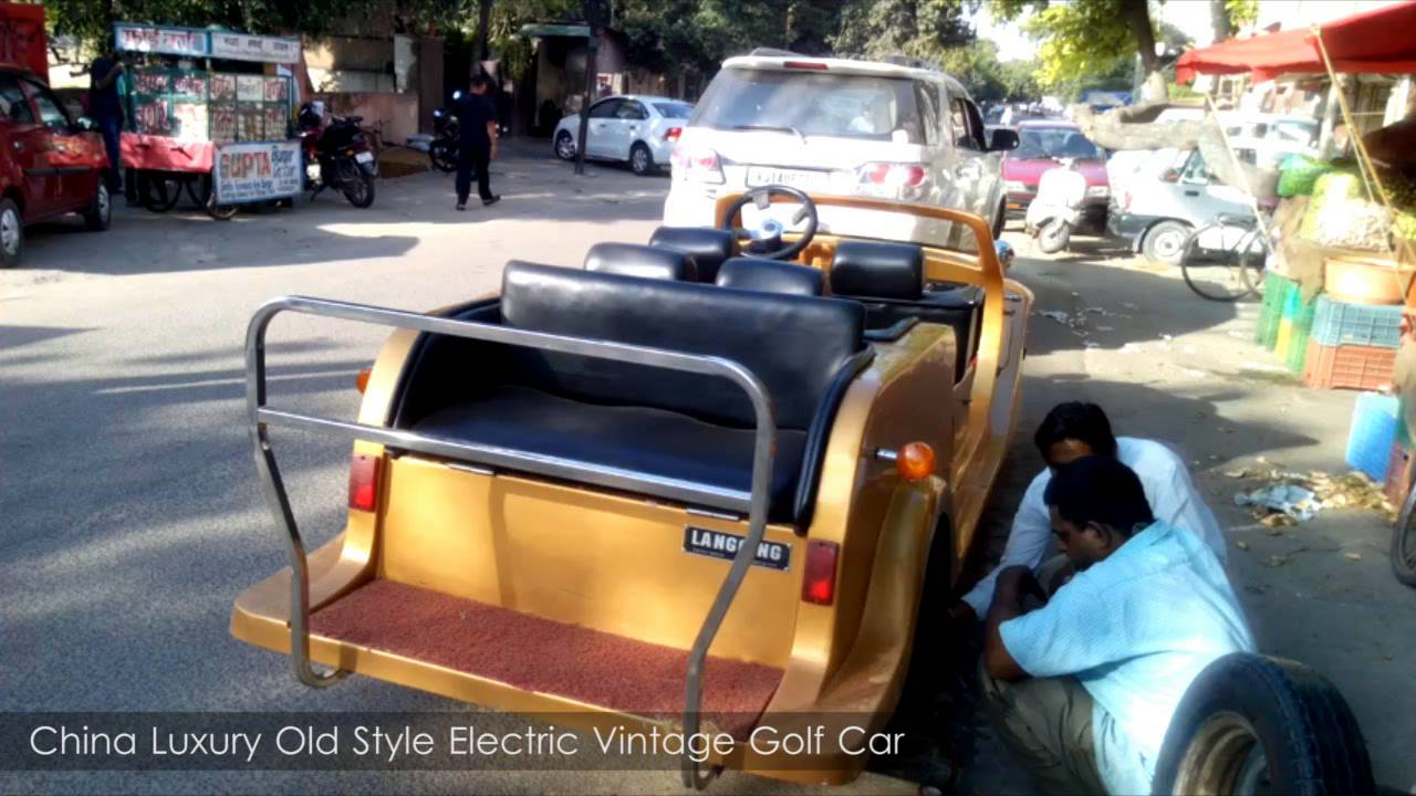 Golf Cart | China Electric Golf Car | Unique car | Amazing looking ...