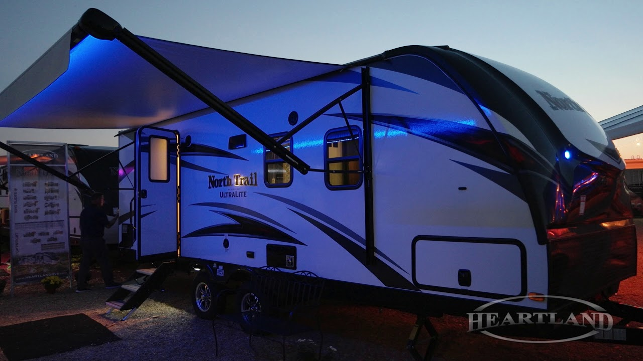 North Trail Awning Colors Heartland Rvs Youtube