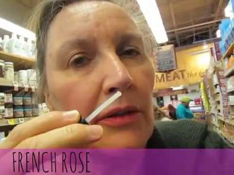 Sampling ROSE PERFUMES~ATTAR BAZAAR~ at Whole Foods