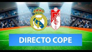 (SOLO AUDIO) Directo del Real Madrid 2-0 Granada en Tiempo de Juego COPE