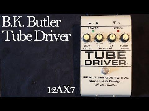 B.K. Butler Tube Driver (5-knob w/ Bias Control)