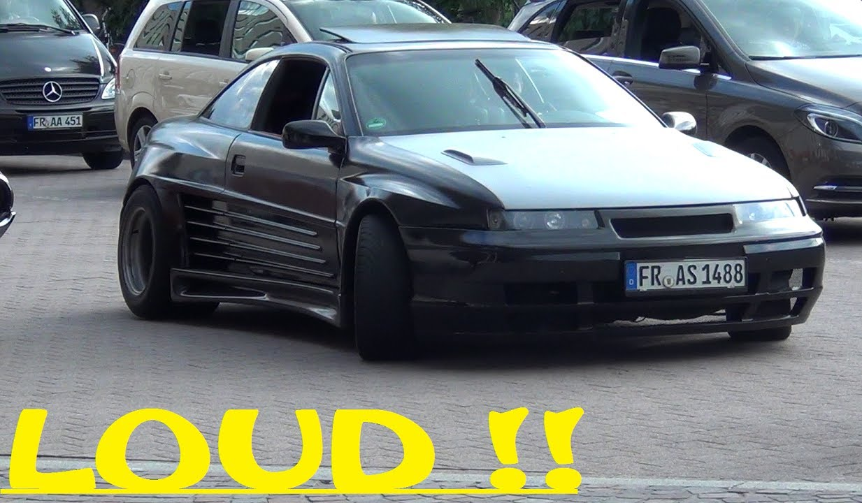 hd opel calibra widebody what a sound youtube. Black Bedroom Furniture Sets. Home Design Ideas