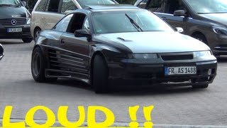 (HD) Opel Calibra Widebody....WHAT A SOUND !!!