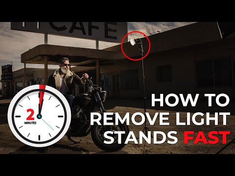 How to Remove Light Stands via Compositing in Less than 2 Minutes