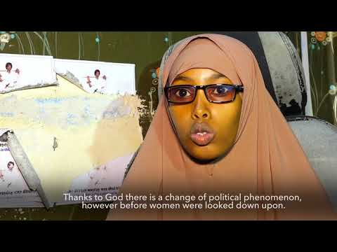 The role for the women in #Somalia society