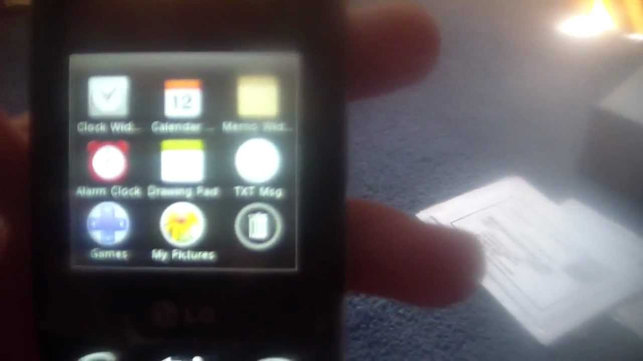 LG Cosmos Touch Unboxing And Review - YouTube