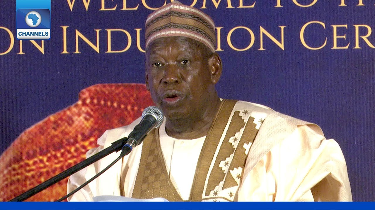 Download Ganduje, Others Task Broadcasting On Naion Building