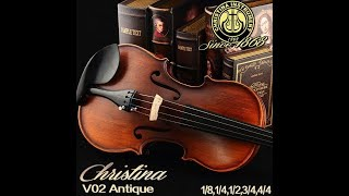 Testando Violino Christina V02