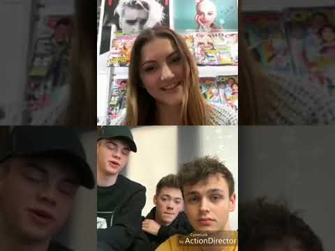 Why Don't We livestream-interview with a german magazine [19.02.2018]