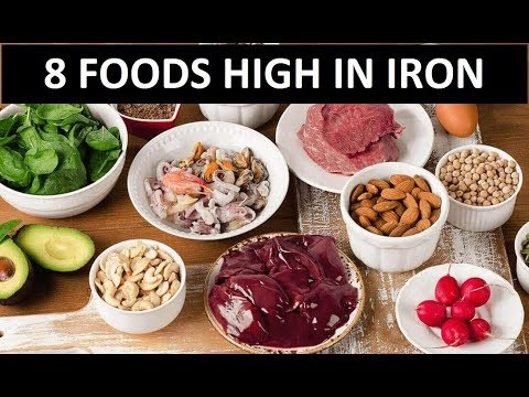 8 Foods High In Iron