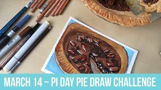March 14 - Pi Day Pie Draw Challenge ~ Allison Ranieri