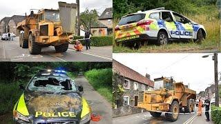 30-tonne Dumper Truck Police Chase