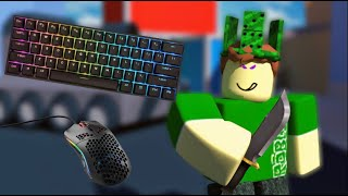 ROBLOX: MM2 gameplay (keyboard and mouse sounds)