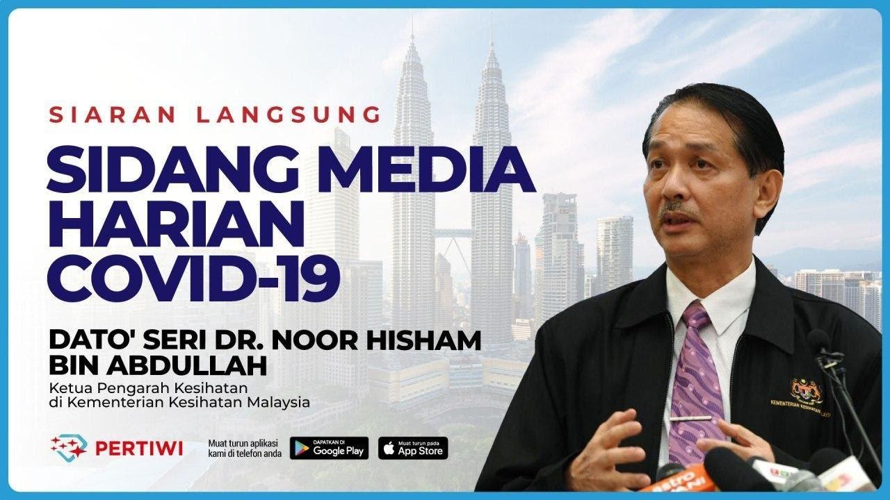 [ LANGSUNG] SIDANG MEDIA KEMENTERIAN KESIHATAN MALAYSIA BERKENAAN COVID-19