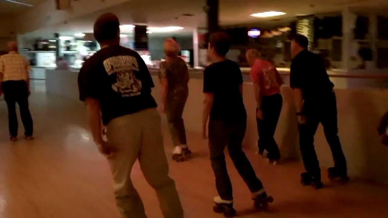 Roller skating rink in maryland - Shuffle Skating Sportsman S Hall Roller Skating Rink 9 18 11 All Skate