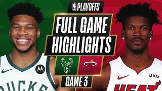 GAME RECAP: Bucks 113, Heat 84