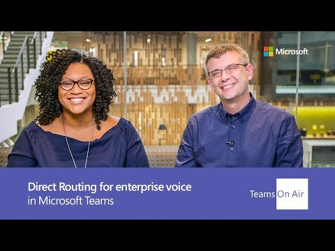 Direct Routing For Enterprise Voice Telephony Within Microsoft Teams