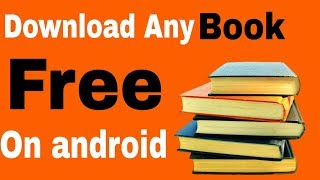 Gambar cover Download Free any Book In Pdf| how to download any book on android