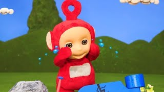 Teletubbies: Po's Broken Scooter - Speedy Shenanigans - Teletubbies Stop Motion