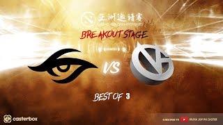 [DOTA 2 LIVE PH] TEAM SECRET VS VICI GAMING |Bo3| BREAKOUT STAGE Dota 2 Asia Championships