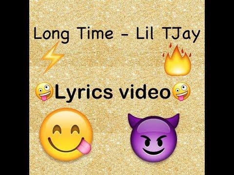 Long Time ~ Lil Tjay~ Lyrics Video