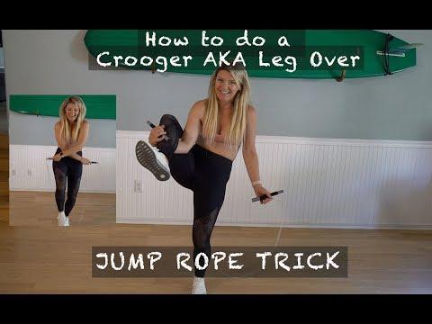 How To Do The Cruegar/Crooger Jump Rope Tick AKA Leg Wrap Tutorial