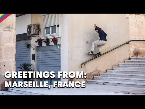 Meet The Local Skate Scene In France's Oldest City  |  GREETINGS FROM: MARSEILLE, FRANCE