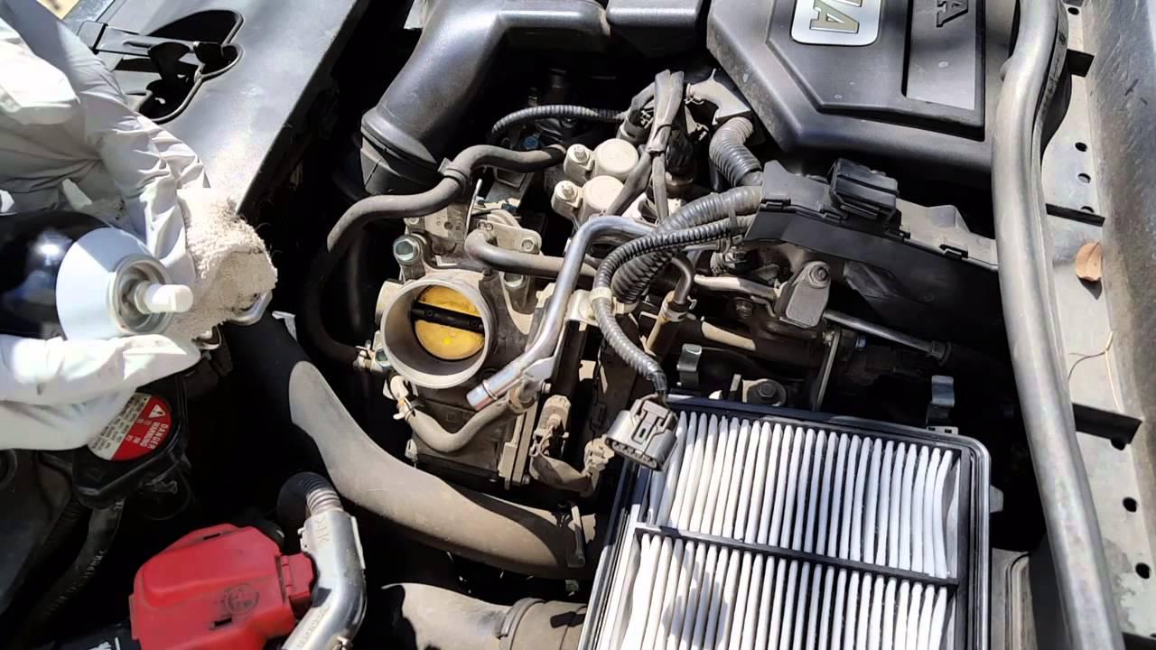 Diy Easy Throttle Body Cleaning On A Honda Civic Hybrid