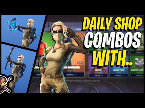 Daily Item Shop Combos With SCORPION In Fortnite!
