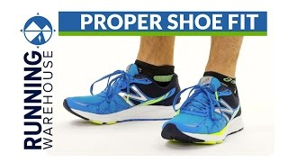 What's my size: How to properly fit running shoes