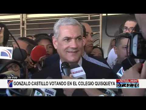 Gonzalo Castillo exhorta a votar en paz y confiar en la JCE