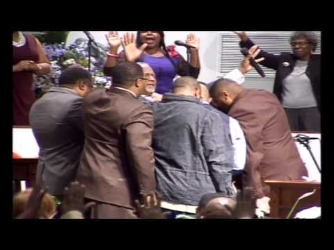 The Men of the Temple of Praise Praying for Our Bishop