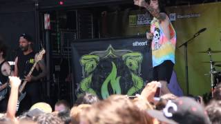 "Like Moths To Flames - ""The Worst In Me"" LIVE (HD) Pomona Warped Tour 2013 Day 1"