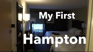 Room Tour:  Hampton Inn Kansas City Airport
