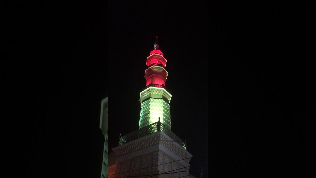 Lampu Menara Masjid Pondok Ungu Permai Blok Al Youtube